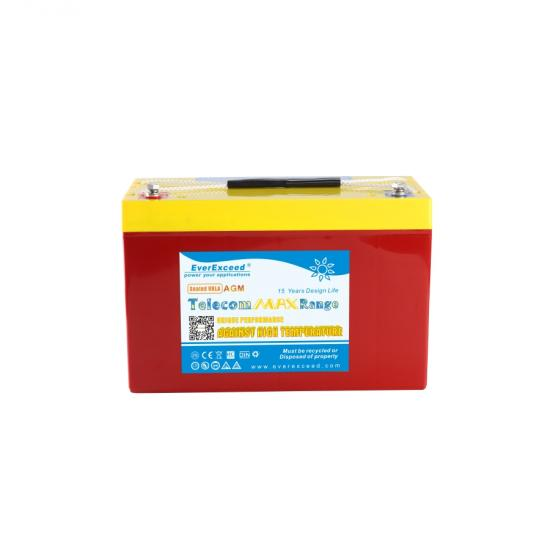 Telecom high temperature long service battery
