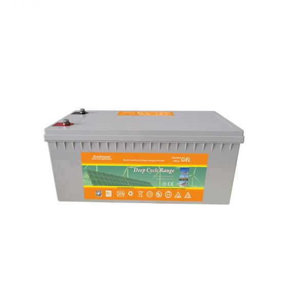 12V deep cycle gel battery