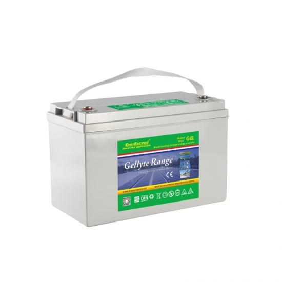 12V deep cycle solar gel battery