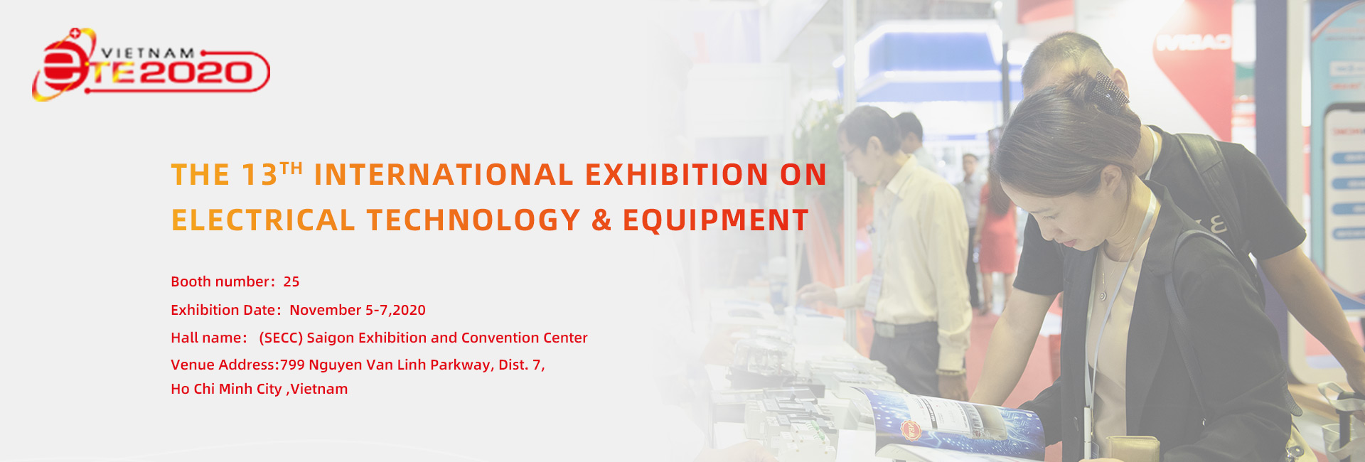 THE 13TH INTERNATIONAL EXHIBITION ON  ELECTRICAL TECHNOLOGY & EQUIPMENT