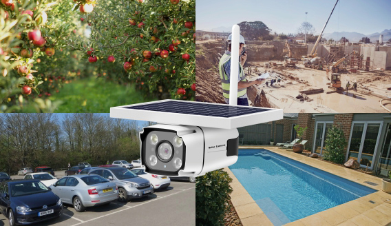 Suitable applications of Solar Powered Security Camera