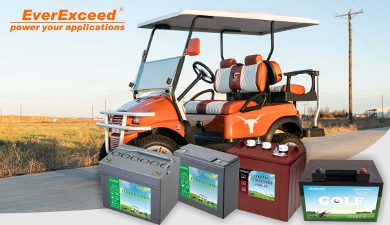 The advantages of using Lithium batteries in Golf Carts