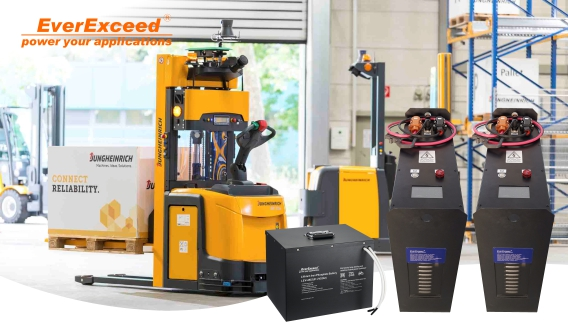 The benefits of LiFePO4 Batteries for Automated guided vehicles (AGV) applications