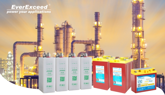 Backup batteries for Oil & Gas industry