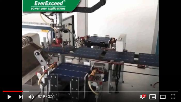 EverExceed Solar Modules Production Line