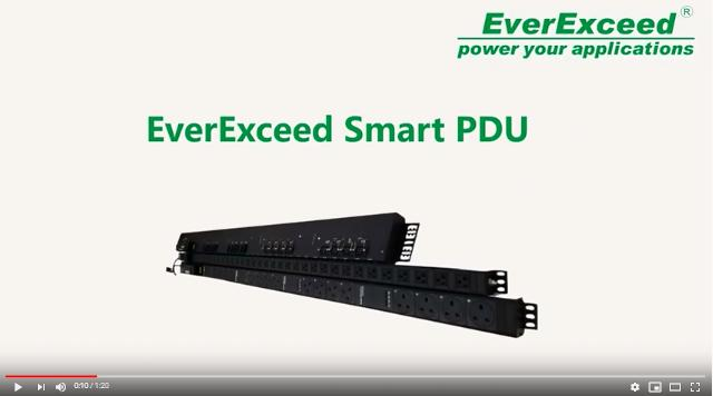 EverExceed Smart PDU (Power Distribution Unit)