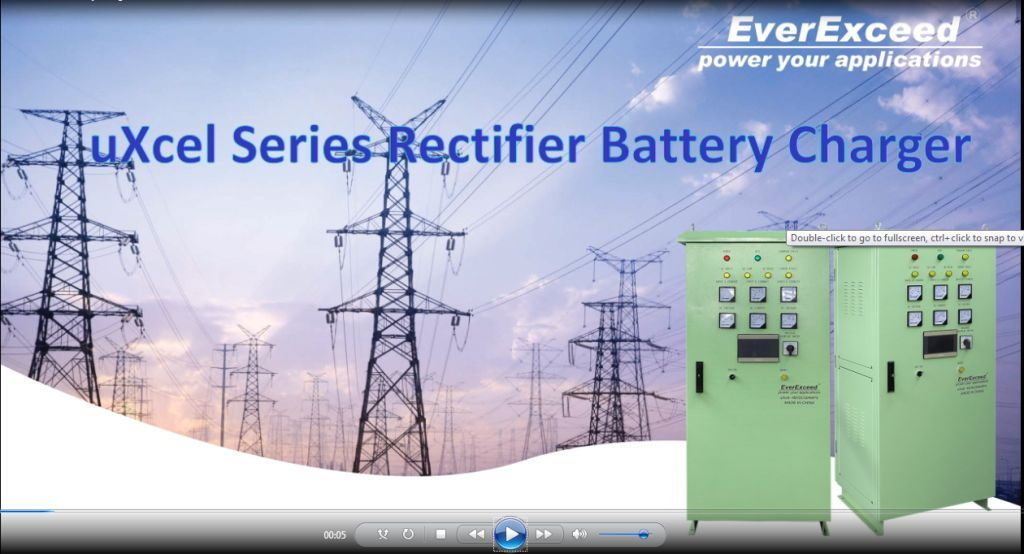 EverExceed uXcel Series battery charger